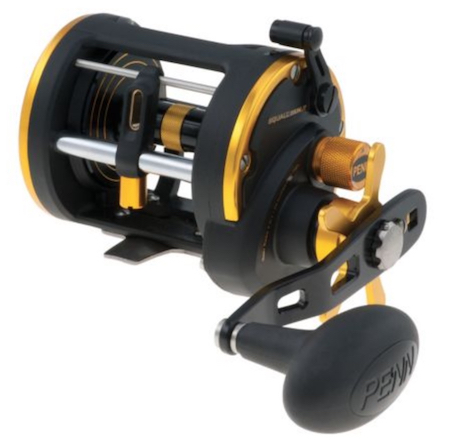 Penn Squall tarpon reel for fishing for tarpon from a boat or shore.