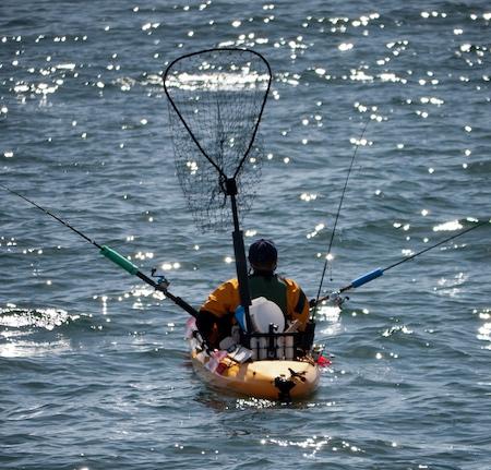 Kayak Tarpon Fishing in Gulf of Mexico for big silver kings.