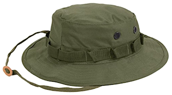 Boonie cap color choices - green and many others.