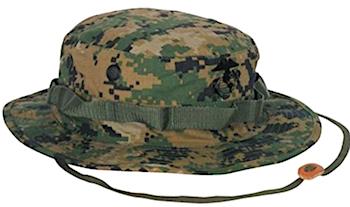 Boonie cap - green color.