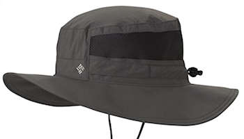 Boonie cap - ultra-light and dark green color.