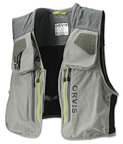 Orvis Ultra-light salmon fishing vest.