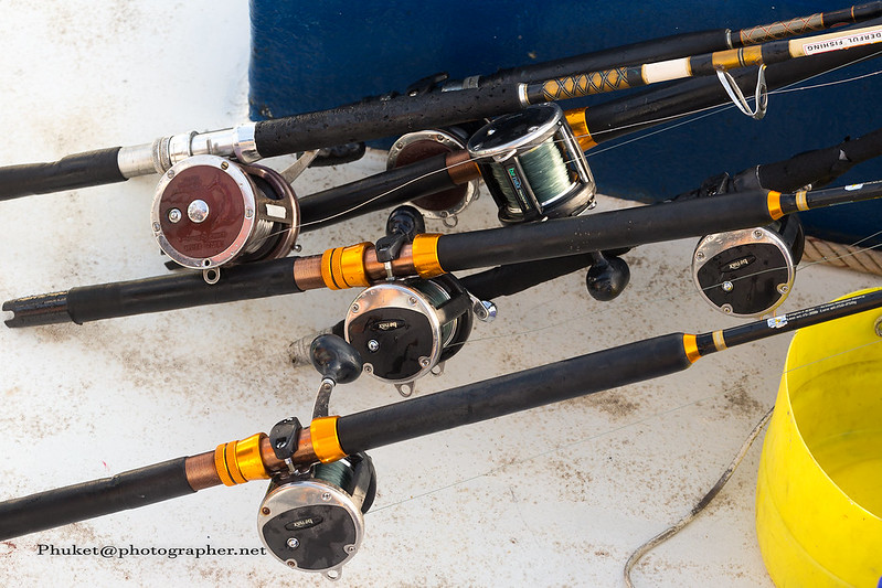 Baitcasting rods and reels for casting precision or trolling.