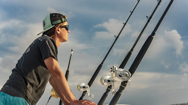 Rod types for deep sea fishing.