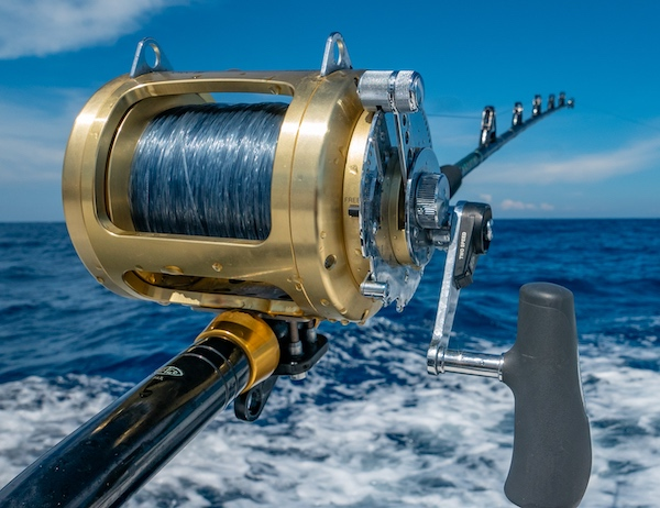 Trolling reels are very strong to handle large fish.